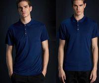 Hot new shirt t-shirt piccolo cavallo ricamo abbigliamento uomo tessuto lettera polo t-shirt collare casual t-shirt maglietta top