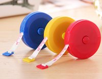 Candy color 1. 5M mini portable tape measure keychain Sewing ...