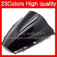 100% ny motorcykel vindrutan för Honda CBR600RR 03 04 05 06 CBR600 RR CBR 600 RR 2003 2004 2005 2006 Chrome Black Clear Smoke Windshast