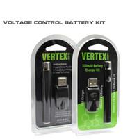 Kit di preriscaldamento batteria DHL Kit di avviamento preriscaldamento VV co2 Vaporizzatore olio O penna 510 Vape Vaporizzatore regolabile cartuccia a tensione variabile