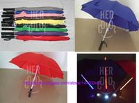 20 teile / los Kühle Klinge Runner Lichtschwert LED Blitzlicht Regenschirm rose regenschirm flasche regenschirm Taschenlampe Nachtwanderer