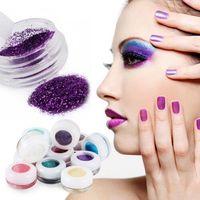 Shopping 2015 Nuovi 30 colori Glitter Eye Shadow Polvere Makeup Mineral Mineral Metallic Eyeshadow Polvere Professionale