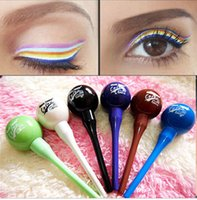 New Durable lollipop multicolour liquid eyeliner waterproof ...