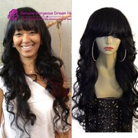 Lace Wigs Human hair Loose Wave Full Lace Human Hair Wigs fo...