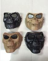 m02 skull mask cs protezione Paintball Airsoft Gun Masks maschere di horror di Halloween A94 full face spedizione gratuita TY936