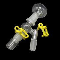 14 milímetros 18 milímetros Reclaim Ash Catcher Adaptador Masculino Feminino Vidro Adapter Com Keck Clip Para vidro Bongs