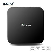 Android TV-Box TX3 Pro Android 7.1 Amlogic S905W Quad Core 1 GB 8 GB Wifi Set Top Boxes Wette X96 Mini