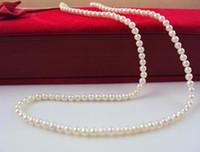2.5-3.5 mm extremadamente pequeño collar de perlas naturales 45cm collares de cuentas 925 corchete de plata