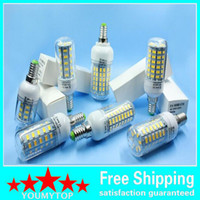 10pcs / lot E27 24led 7W 36led 12W 48led 15W 56led 18W 5730 Lampada a LED Lampadina a LED a lampadina ultra luminosa a LED