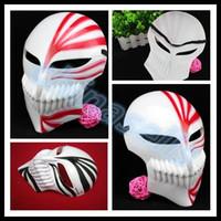 Cadılar bayramı maskesi parti animasyon cosplay Ölüm Ichigo Kurosaki masquerade maske ölüm tanrı sahne hayalet trotes maske sahne Hip-Hop dans ...