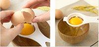 Vendita calda plastica bianco tuorlo uovo separatore cucina strumento di cottura setacciatura gadget chef filtro spedizione gratuita TY286