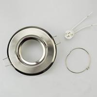 알루미늄 LED 천장 피팅 GU10 / MR16 램프 홀더 등의 보조 LED 다운 프레임 MR16 MR16 고정구 홀더 조명