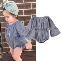 Newborn Baby Romper Overall Girls Boutique Fall Boutique Clo...