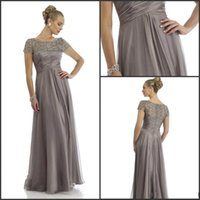 2015 Hot Sales Long Chiffon Mother of the Groom Dresses Shor...