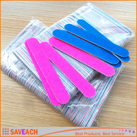 Nail Art Styling tools Sanding Nail File Buffer For Salon Ma...