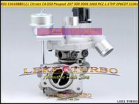 K03 53039880121 53039880121 53039700120 0375R9 Turbo Turbocompresseur Pour Peugeot 207 308 3008 5008 RCZ Citroën C4 DS EP6DT EP6CDT 1.6THP 110kw
