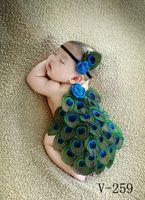 En çok satan bebek fotoğraf kostüm bebek dolunay tavuskuşu kostümleri ve saç ile fotoğraf sahne
