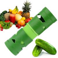 Cortador de frutas Fruit Slicer Spiralizer Fácil Garnish Veggie Twister Processamento Dispositivo Gadgets de Cozinha Utensílios de Cozinha TOP78