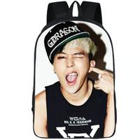 G Dragon backpack GD star daypack كوون جي يونغ المدرسية البوب موسيقى الظهر الرياضة حقيبة مدرسية حزمة في الهواء الطلق اليوم
