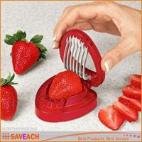 Strawberry Slicer Cutter Fruit Tools - SIMPLY SLICE STAINLES...
