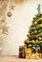 Tema de Navidad Vinilo Fotografía Personalizada Telón de Fondo Prop Photo Studio Fondos SD08