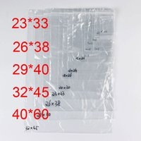 PE Clear Plastic Bags Zip Locks Ziplock Zipper Poly OPP Self...