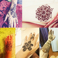 black henna tattoo paste - indian temporary fake tattoo natu...