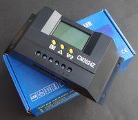 Intelligent 30A 12V / 24 V Solar Panel Controller Systeem Zonnepaneel Systeem Solar Charger Light Control Solar Regulator CM3024Z gratis verzending