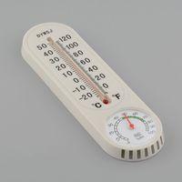 Termómetro doméstico análogo Higrómetro Medidor de humedad de temperatura montado en la pared 400 unids / lote