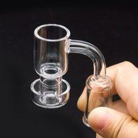 Quartz Vacuüm Banger Nail Dabber Domeloze Terp Slurper Up Olie Nagels 14mm 18mm Roken Waterleidingen voor Hookahs Glass Bong