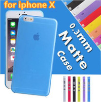 0. 3mm Ultra Thin Slim Matte Frosted Transparent Flexible PP ...