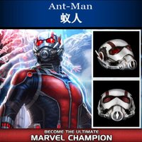 Free shipping Ant- man Helmet Ant man mask Cosplay halloween ...