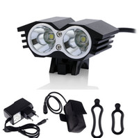 New 2015 Bicycle Lamp X2 2xCree XM- L U2 4- Modes 3000- lumen B...