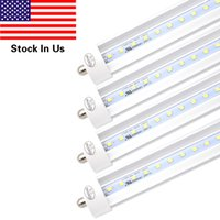 25- Pack, T8 LED Tube Light 8ft 45W, Single Pin FA8 Base, Cle...