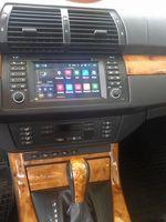 """7"""" 2din Android 6.0 DVD del coche para BMW E39 Serie 5 / M5 1997-2003 3G / 4G LTE, Wi-Fi, DAB hd pantalla 1024x600"""
