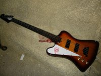 Nuovo arrivo Chinese Bass 4 Strings mano sinistra basso elettrico Honey Burst Bass Guitar