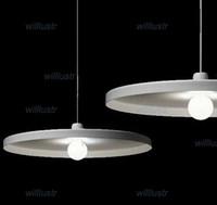 Tossb Disk Sarkıt Belçika Tasarım Aydınlatma Toss B Hafif Modern Süspansiyon Lambası Beyaz ve Siyah Renk 2 Boyutları Ücretsiz Kargo