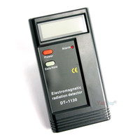 LCD Digital Radiation Testers Detectors EMF Meters Dosimeter Electromagnetic Tester Detector DT1130 9V Battery included 60PCS/CTN