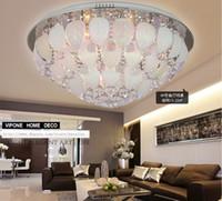 Продаю круглый хрустальный светлый потолок креативная спальня. Потолочные листья лепестков. Потолочные светильники из нержавеющей стали