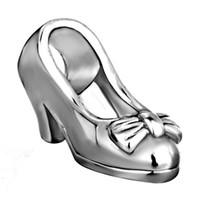 Moda Mulheres Jóias Estilo Europeu Senhora Senhora High-Heeled Sapato Metal Espaçador Espaçador Afortunado Encantos se encaixa Pandora Charm Bracelet