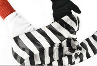 Black And White Gloves To Streamer Free shipping streamer ma...