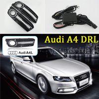 아우디 A4의 B8 들어 1 쌍 2,009 헤드 LED DRL 2010 2011 2012 자동차 자동차 낮 실행 조명 교체 안개 램프 커버