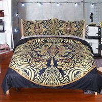 Hot Sale Gilding Floral Garden Bedding Sets Duvet Cover Pill...