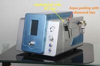 2 in 1 Hydro Dermabrasion Hydra Dermabrasion Wasser Dermabrasion Hautschale Microdermabrasionsmaschine mit 8 Hydra-Spitzen 9 Diamantspitzen