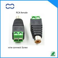 Hohe Leistung und ROHS 100% nagelneues 20pcs Handels RCA weibliches Jack Verbindungsstück für Audiokabel