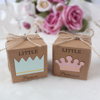 500pcs Paperboard Gift Boxes for Baby Shower Decorations Wed...