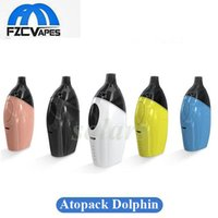 Authentique Joyetech Atopack Dolphin Starter Kit 2 ml 6 ml E Cigarette 2100mah Vape Kit vs Peguin SE 100% Original
