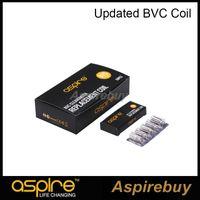 Aspire CE5 CE5-S ET-S Clearomizer BDC için% 100 Otantik orijinal Aspire Aspire BVC Bobinler Çift Bobinler Elektronik Sigara bobin güncellenmiş