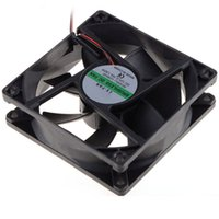 Wholesale- 80*80*25 MM Personal Computer Case Cooling Fan DC...