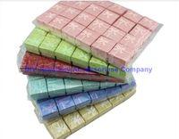 24 шт. 4 * 4 * 3 Дисплей Упаковка Подарочная коробка Ювелирные Изделия Коллы Multi Colors Кольца Серьги / Подвесная коробка